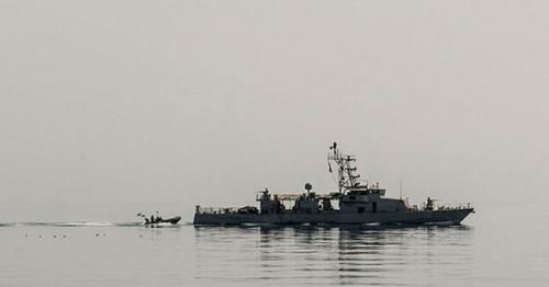 US Navy vessel opens fire on Iranian ship in Persian Gulf as war tensions mount