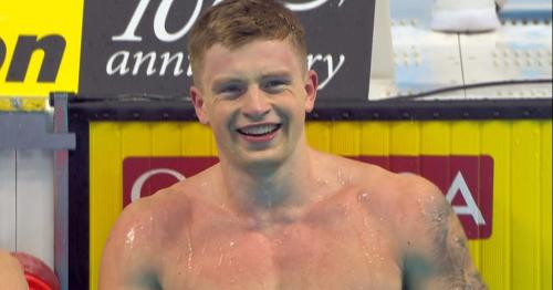 Adam Peaty sets second 50m breaststroke world record in day