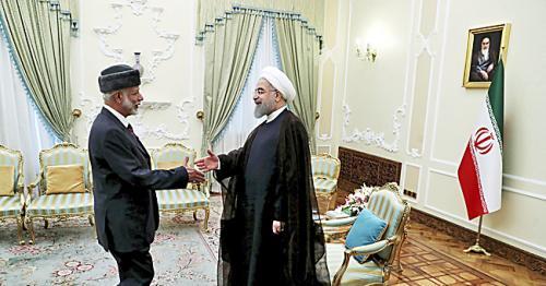 Iran, Oman to strengthen ties amid Gulf crisis