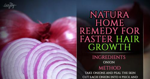 NATURAL HOME REMEDY FOR FASTER HAIR GROWTH