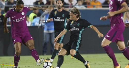 Manchester City thrash Real Madrid 4-1 in Los Angeles but Mendy not ready