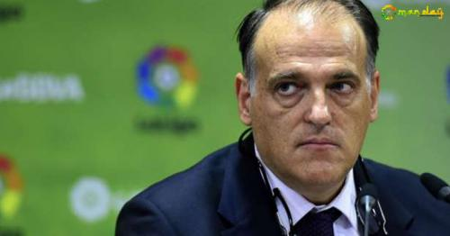 La Liga chairman Javier Tebas (AFP Photo)
