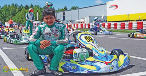 Shihab Finishes Fifth in Germany
