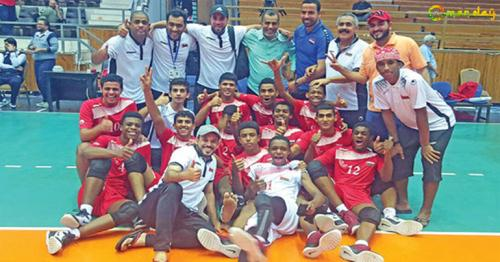 Oman Clinches Silver at Arab U17 Volleyball Championship