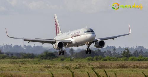 First Qatar Airways landed in Sohar