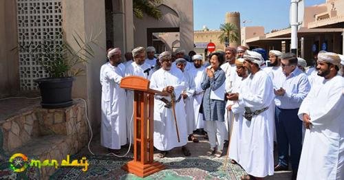 Launch of a new health promotion project in the Omani city of Nizwa (WHO)