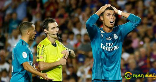 Ronaldo could miss up to 12 matches for shove referee