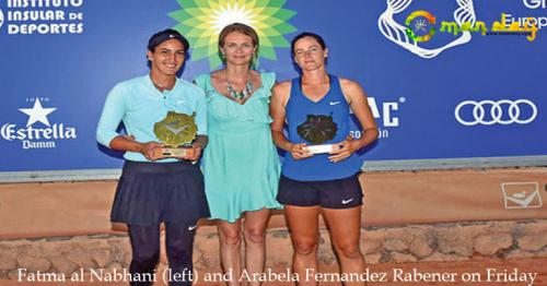 Fatma claims first title of year