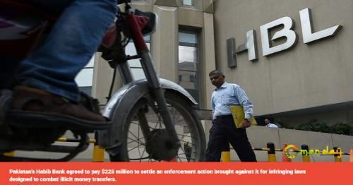 Pakistan's Habib Bank to pay $225m New York fine