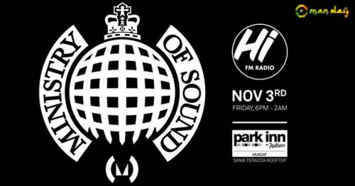 MINISTRY OF SOUND ARE COMING TO MUSCAT !