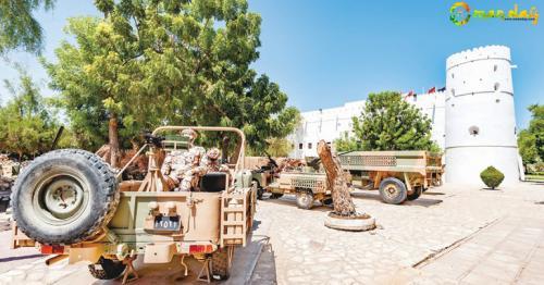 Explore Oman's military history