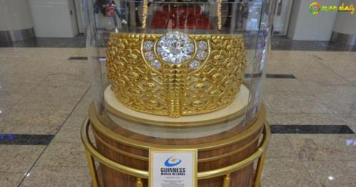 World's largest gold ring on display in Sharjah
