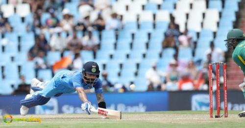 2.75 Kilometres - Yes, That's The Distance Virat Kohli Ran While Demolishing South Africa In Cape Town!