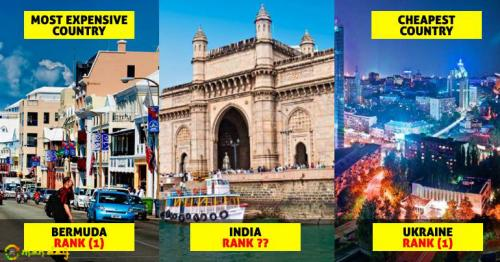 List Of Top 10 Expensive & Top 10 Cheapest Countries Out. Check Where India Stands