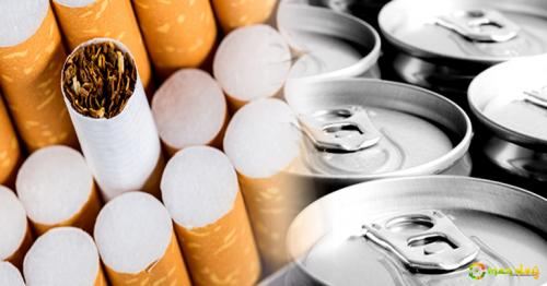 100% excise tax on tobacco, energy drinks from June