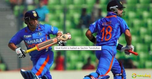 Did You Know The First Time Virat Kohli Met Sachin Tendulkar He Dived At His Feet For He Thought It Was A Team Ritual?