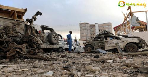 At least 45 killed in Somalia blasts