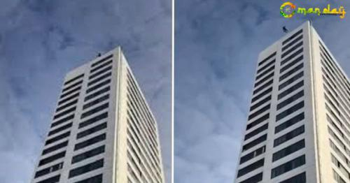 Man Falls 24 Floors Onto Concrete After Parachute Fails To Open... And Survives!