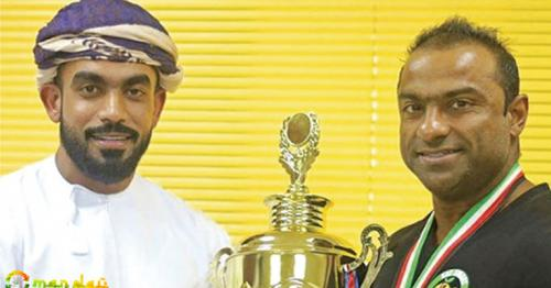 Omani bodybuilding champion wins gold in Spain