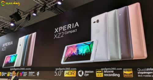 Sony Xperia XZ2, Xperia XZ2 Compact With 18:9 HDR Displays Launched at MWC 2018: Specifications, Features