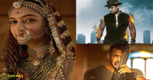 Deepika Padukone's Padmaavat beats Aamir Khan's Dhoom 3 and Salman Khan's Tiger Zinda Hai at the box office