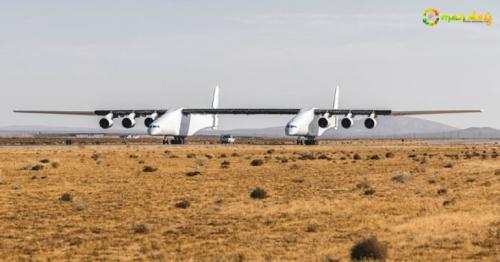 The World's Largest Plane Has A Wingspan Of 117 Metre And Weighs Twice As Much As A Boeing 747