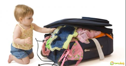Here top 4 Tips for travelling with children