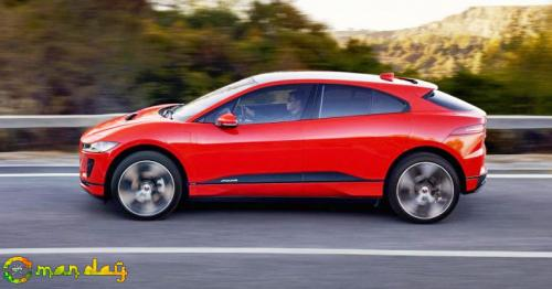 Jaguar unveils its first all-electric vehicle, designed to take on Tesla Model X