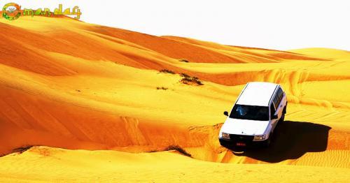 The Wahiba Sands