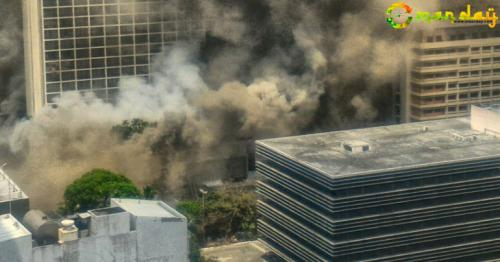 At least 4 dead in Philippine hotel fire, hundreds evacuated
