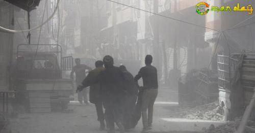 Syria's White Helmets: 56 people killed in Eastern Ghouta