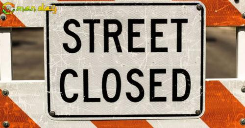 This road in Muscat will be closed for the weekend
