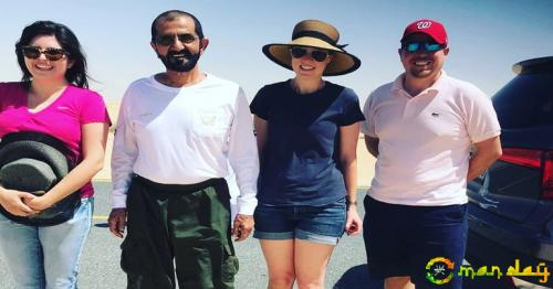 Tourist claims Dubai's ruler helped get her car out of sand. Tweet is viral - View images