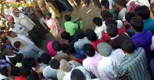 On Video, Woman Tied To Tree, Beaten As People Watch. No One Intervenes