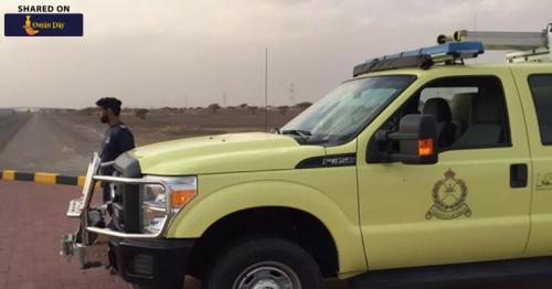 Child in Oman gets finger stuck in swing