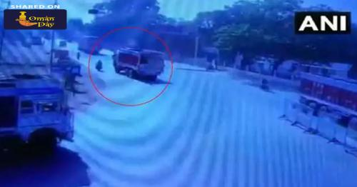On Camera, The Chilling Moment A Journalist Was Crushed By Truck