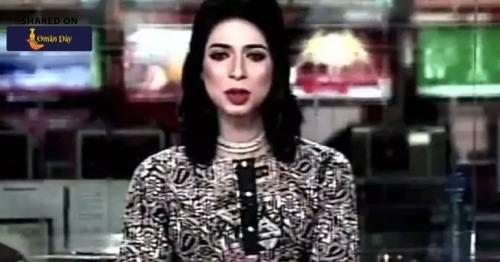 Pakistan's First Transgender News Anchor Takes Social Media By Storm