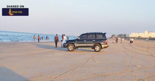 Muscat Municipality Prohibits Driving on Beaches, Parks