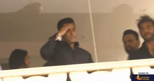 Video: Salman Khan returns home to hero's welcome