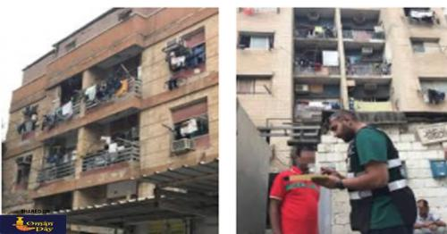 Citizens and expats will be fined for hanging laundry in balcony