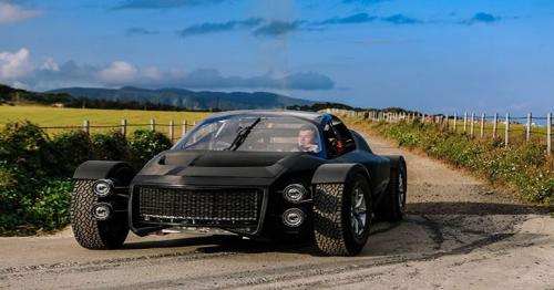 Taiwan's XING Mobility shows off the Miss R electric supercar!