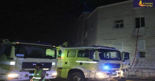 Two children die after a fire broke out  in Oman