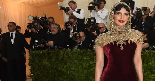Priyanka Chopra stuns in an elegant dress at the 2018 Met Gala