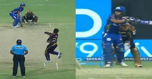 IPL 2018, KKR vs MI: Ishan Kishan hits 'helicopter shot' like MS Dhoni