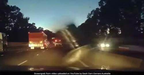 Australian motorist receives unexpected beer delivery