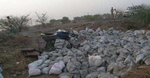 19 dead as truck loaded with cement overturns in India