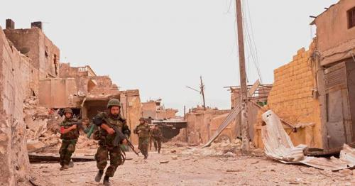 Islamic State surrendering in Syria's capital