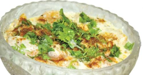 Iftar recipes: Dahi Phulki with Sweet Corn