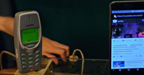 Those old Nokia phones can survive anything, including one million volts