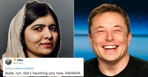 Elon Musk and Malala Yousafzai's Twitter banter is sure to make your day!